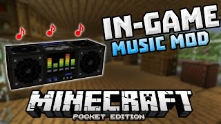 IN-GAME MUSIC in 0.13.0!!! - PC Background Music Mod - Minecraft PE (Pocket Edition)