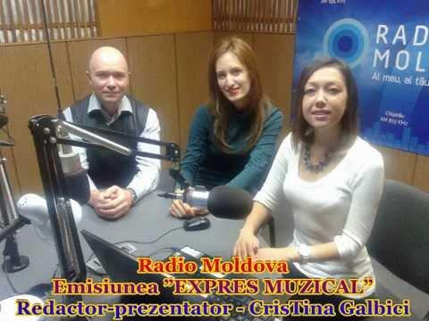 Vlad MIRCOS și Carolina GORUN la Radio Moldova (30.09.2015)