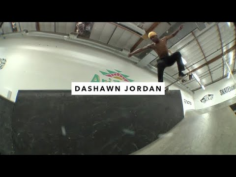 TWS Park: Dashawn Jordan | TransWorld SKATEboarding