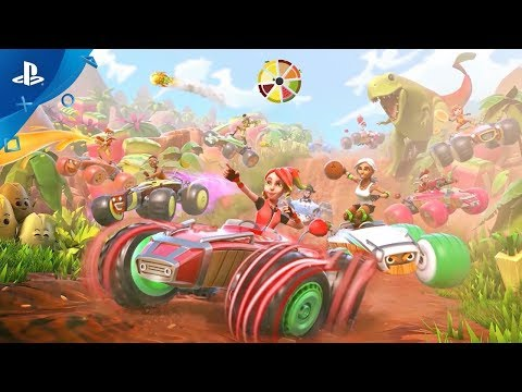 All-Star Fruit Racing – Launch Trailer | PS4