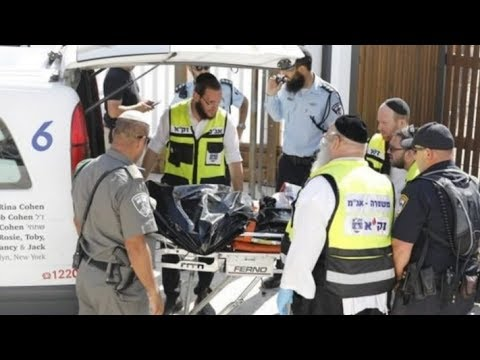 Two Israeli policemen killed in shooting attack near Old City in Jerusalem