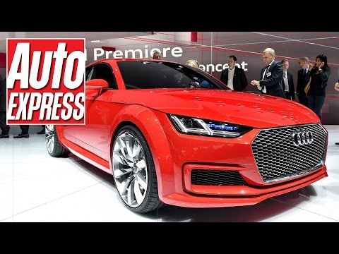 Audi TT Sportback concept at the Paris Motor Show