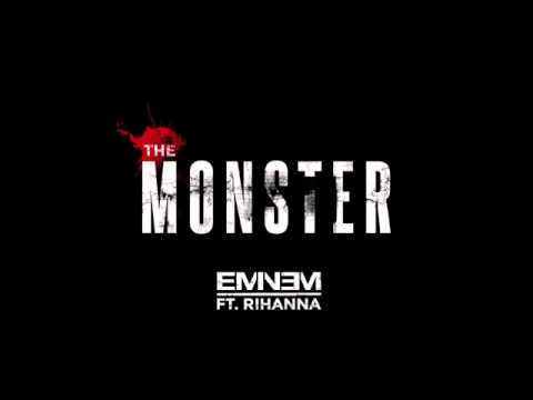 Eminem -The Monster Audio ft-Rihanna Download+lyrics
