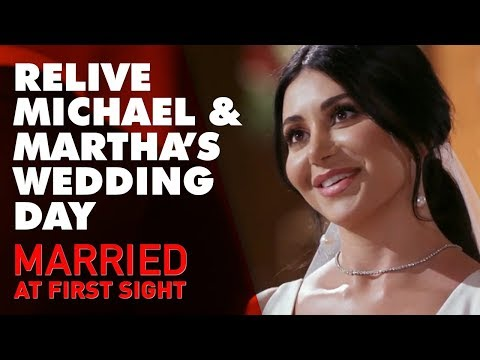 Relive Michael and Martha's wedding day | MAFS 2019