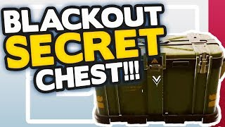 Black Ops 4 Blackout: SECRET CHEST Level 3 Armour at the START of every game!