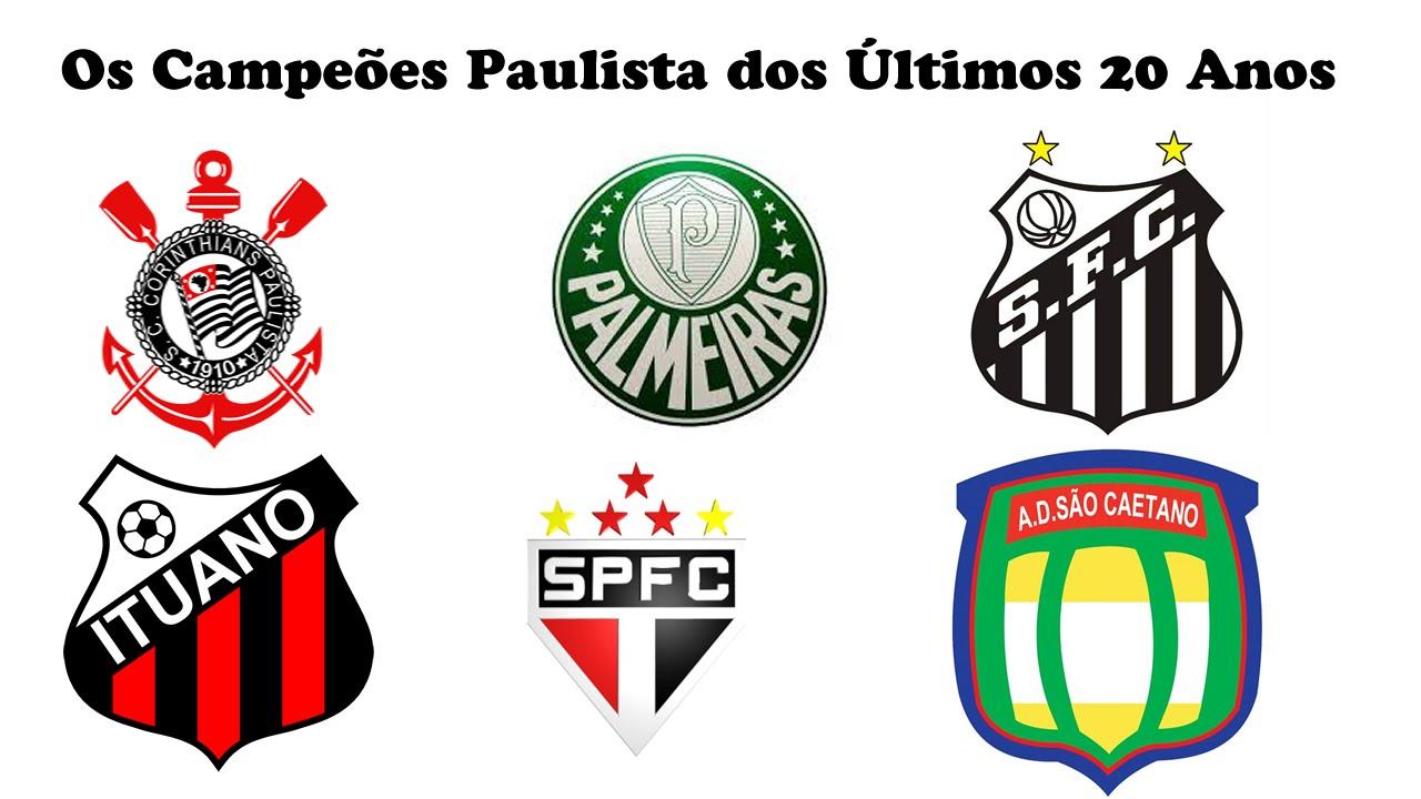 Os Campeões Paulista dos Últimos 20 Anos ( 1995 - 2015 ) - YouTube 10e9914d10549