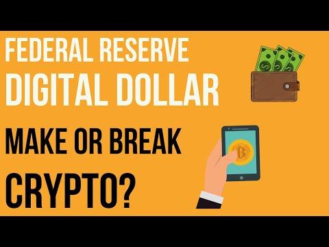 Will The Fed Coin Dollar Destroy Bitcoin? Federal Reserve Digital Dollar