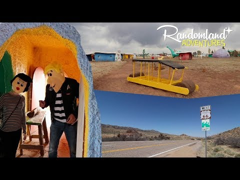 Bedrock City! The Forgotten Flinstones town & a Route 66 adventure in Arizona