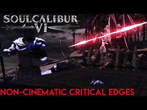 SoulCalibur VI - Non-cinematic Critical Edges and stage exploration