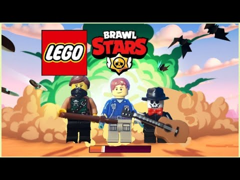 Lego Brawl Stars Showdown | Stop Motion Animation. Лего Бравл Старс  Анимация.