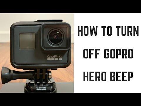 How to Turn Off GoPro Hero Beep