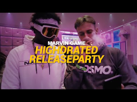 Marvin Game - Highdrated Releaseparty in Amsterdam (Official Recap Video)