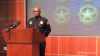 Dallas Police Chief Brown: Suspect Killed By Officer Had Box Cutter