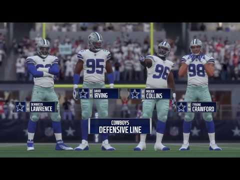 Madden 18 - Kansas City Chiefs vs Dallas Cowboys - Full Game Simulation Nation