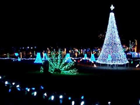 christmas light display at rhema bible college 2008