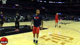 Isaiah Thomas Shooting Workout. Clippers vs Wizards.