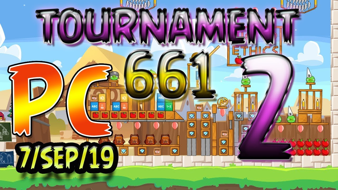 Angry Birds Friends Level 2 PC Tournament 661 Highscore POWER-UP  walkthrough #AngryBirdsFriends
