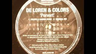 De Loren & Colors - Pervert (Original Mix)
