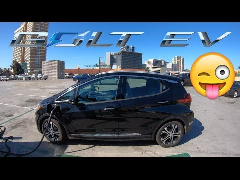 Chevy Bolt EV test drive