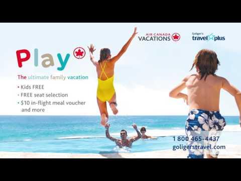 Air Canada Vacations - Promo - October 2016