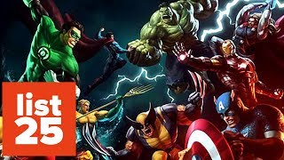 25 Most Powerful Superheroes Of All Time