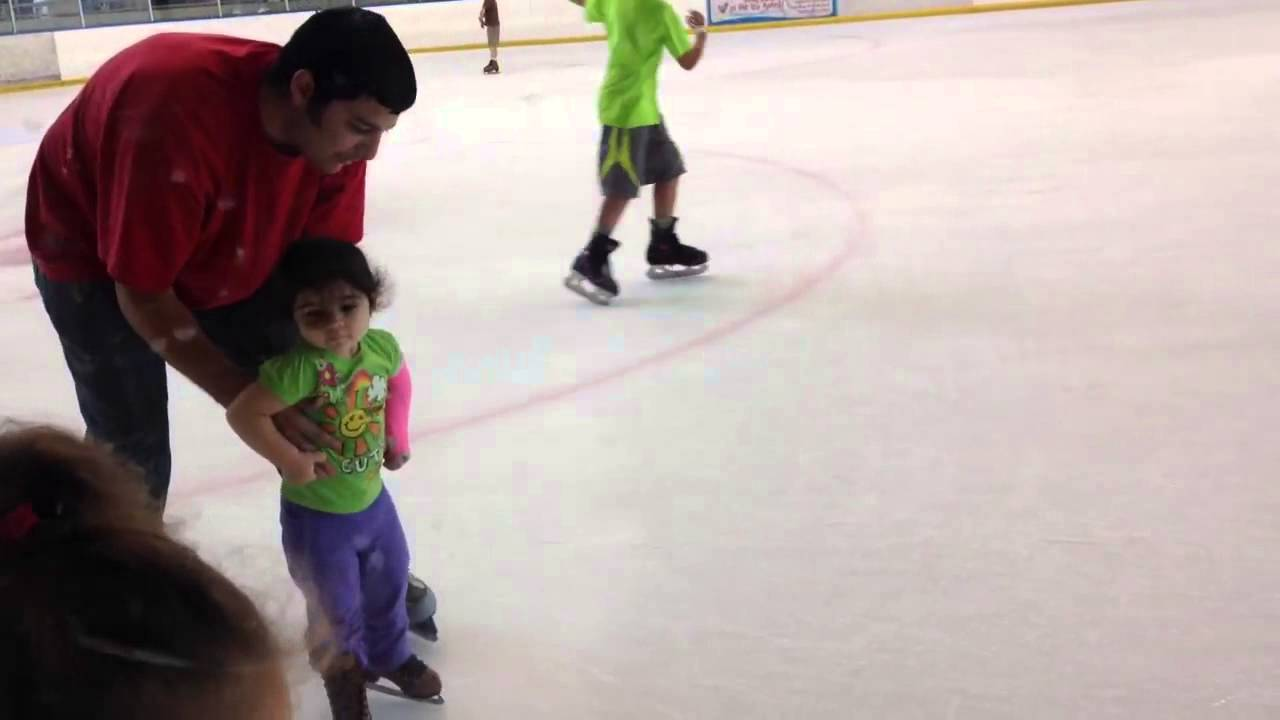 Teach My 2 Year Old Daughter How To Ice Skate