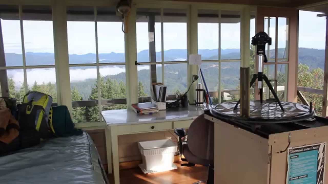 Adventure Oregon Pickett Butte Fire Lookout Tiller