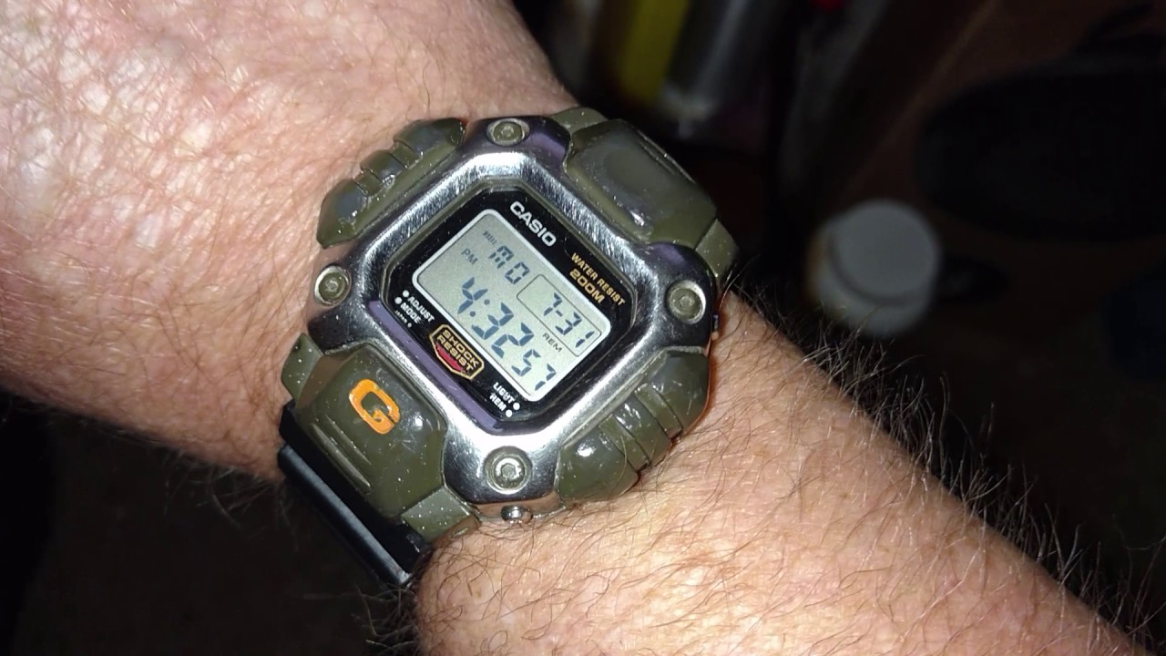 0a40e2bb4cc Casio G-Shock DW-6400 GUNDAM 4-Sale Rare Vintage Retro Japan Thrift find  The one and  only  .