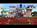 PewDiePie Minecraft Note Block Stream Time Lapse
