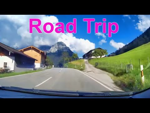 driving in Bavaria to Austria
