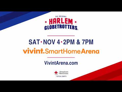 Harlem Globetrotters at Vivint Smart Home Arena November 4