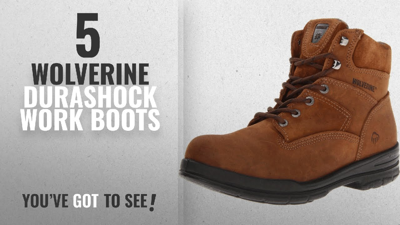 43ed3236f29 Top 10 Wolverine Durashock Work Boots [2018 ] | New & Popular