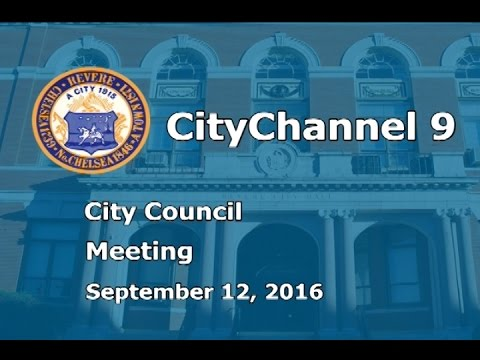 (09/12/16) Revere City Council Meeting