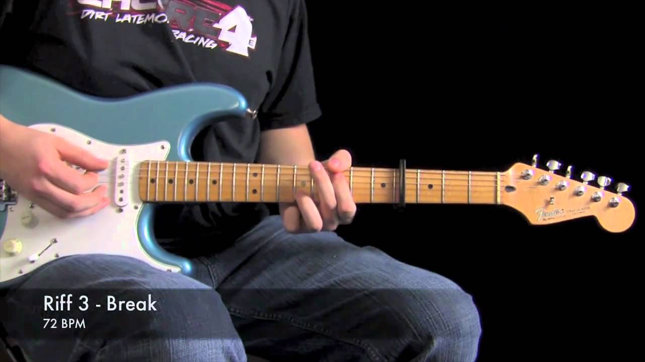 One Thing Remains Electric Guitar Lesson Jesus Culture Youtube
