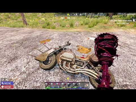 7 Days to Die (Alpha 19 Exp) Episode 23: Finding Oil Shale Then on to Horde Night!