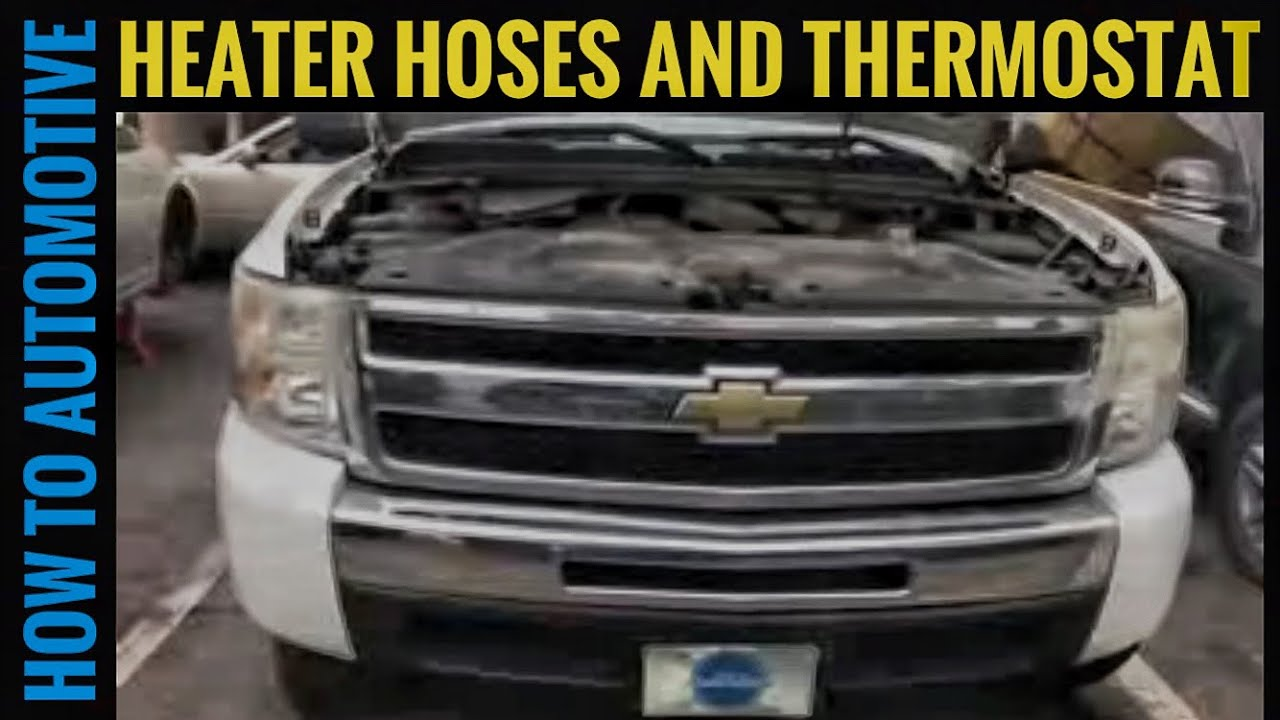 How To Replace The Thermostat And Heater Hoses On A 2007 2014 07 Uplander Fan Motor Wiring Diagram Howtoautomotive Automotiverepair Autorepair