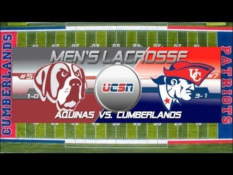 University of the Cumberlands - Men's Lacrosse vs. Aquinas College 2018
