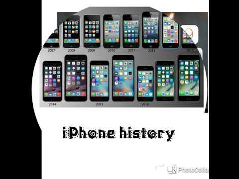 IPhone History And Models