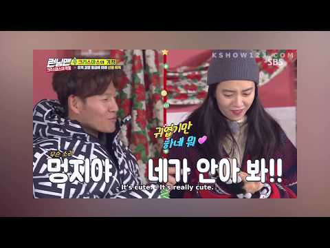 """""""are we getting married ?"""" ask Song Ji Hyo to Kim Jong kook - Spartace couple moment"""