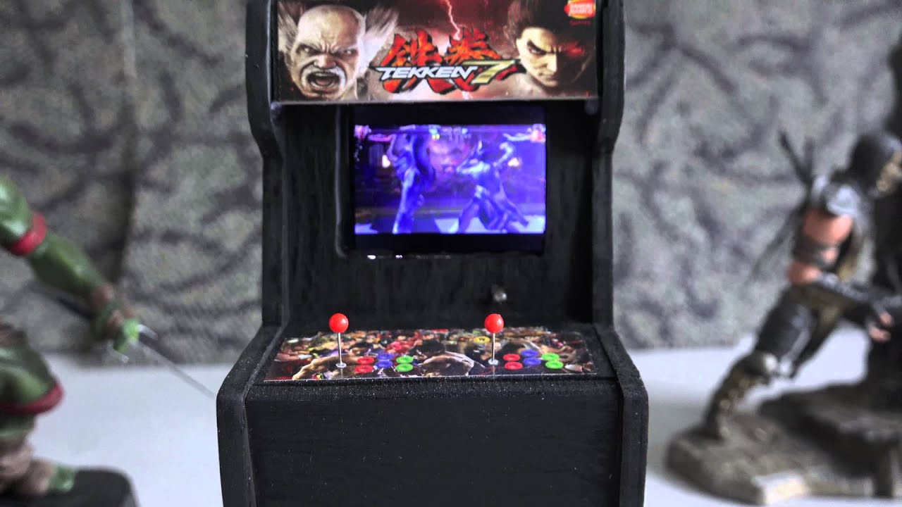 Tekken 7 Cabinet - YouTube