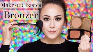 Bronzer richtig auftragen   How to Bronzer   Bronzer   Make-up Basics #8   Hatice Schmidt