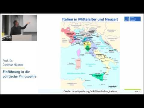Politische Philosophie 5: Neuzeit - Machiavelli, Bodin, Grotius, Pufendorf