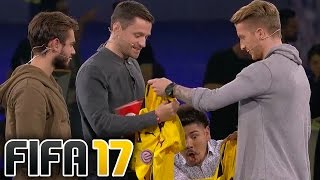 PLAYING FIFA 17 WITH MARCO REUS!!!