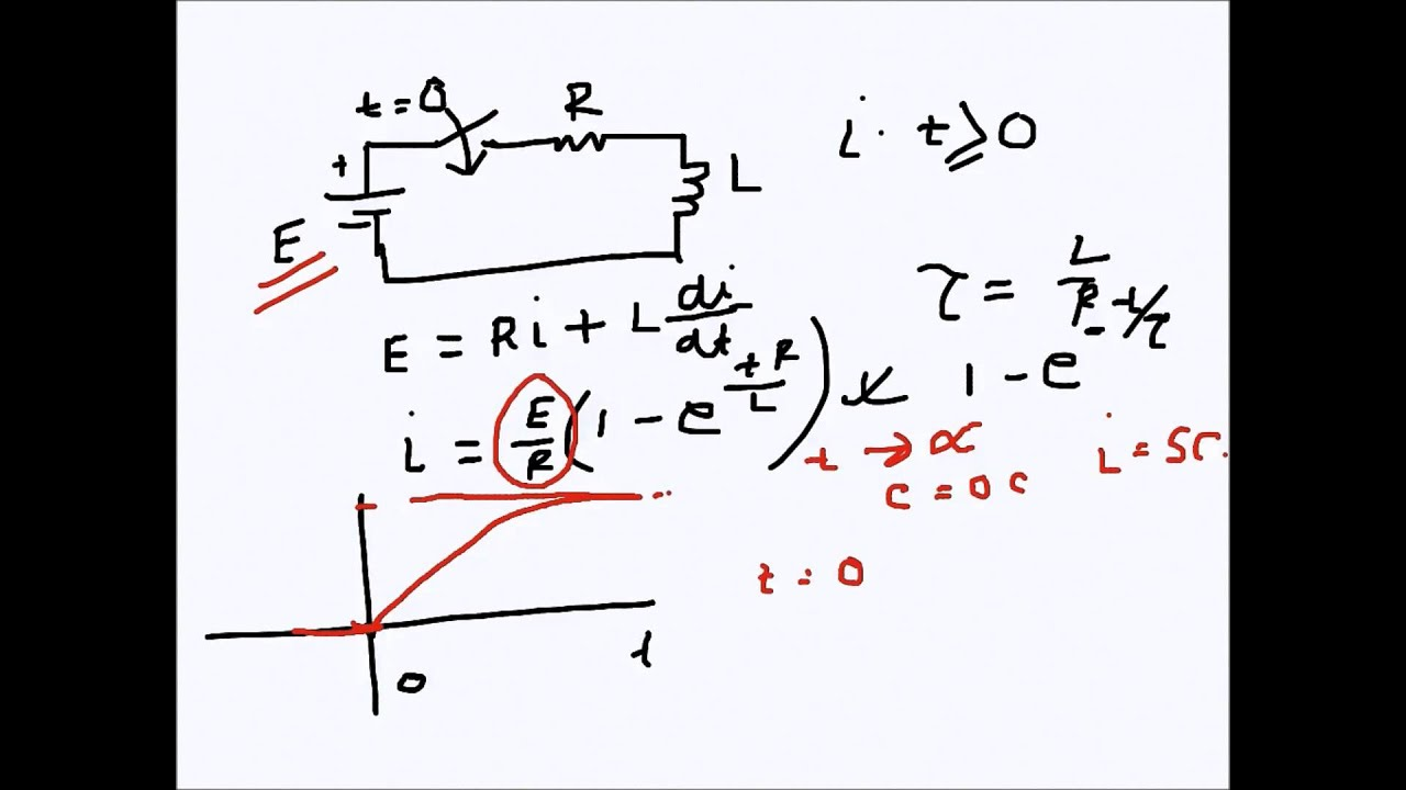 rl circuit equations