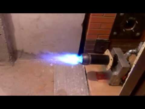 Газовая горелка своими руками на пропане 3