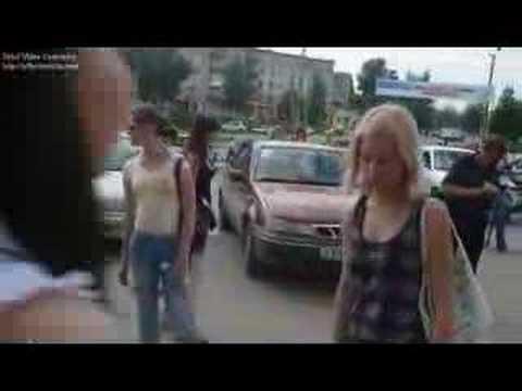 Flashmob in Berezniki