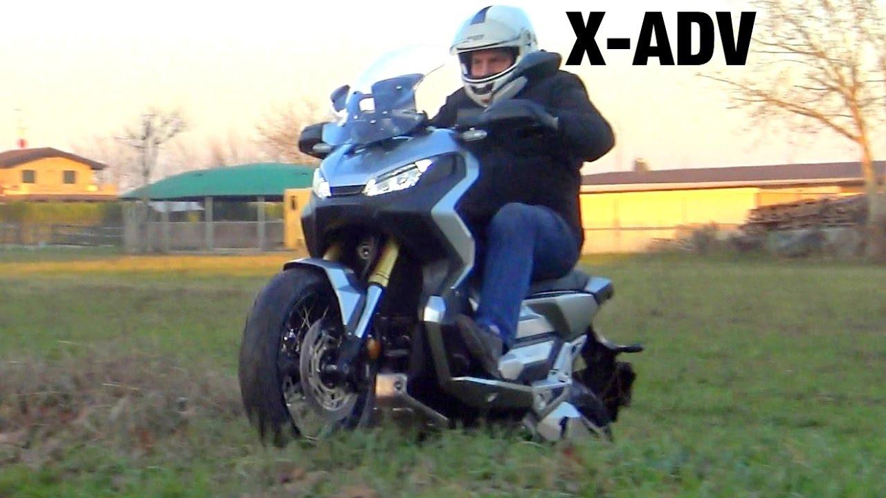 HONDA X-ADV SOUND EXHAUST (VIDEO & SOUND 4K) NO MUSIC