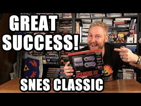 SNES CLASSIC SUCCESS! - Happy Console Gamer