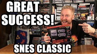 SNES CLASSIC SUCCESS! - Happy Console Gamer