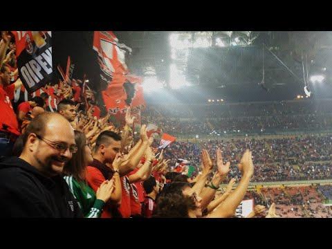 Curva Sud at Inter vs AC Milan | Rossoneri TV